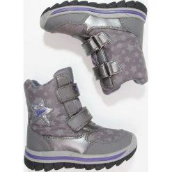 Geox OVERLAND ABX Śniegowce dark silver/violet - 2