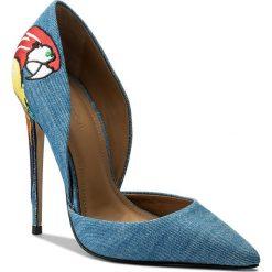 Szpilki KAZAR - Natalie 28482-TK-10 Niebieski. Niebieskie szpilki damskie Kazar, z jeansu. W wyprzedaży za 339.00 zł.