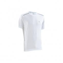 Koszulka do biegania krótki rękaw RUN DRY+ BREATHE męska. Białe koszulki sportowe męskie KALENJI, z materiału. Za 49.99 zł.