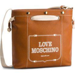 Torebka LOVE MOSCHINO - JC4076PP17LH0200 Cuoio. Brązowe torebki do ręki damskie Love Moschino, ze skóry ekologicznej. Za 799.00 zł.