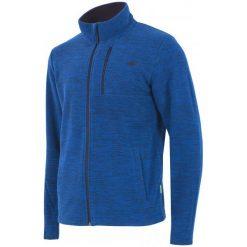 4F Męska Bluza H4Z17 plm001 Granatowy Melanż S. Niebieskie bluzy męskie 4f, melanż, z polaru. W wyprzedaży za 89.00 zł.