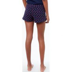 Etam - Szorty piżamowe Juno. Szare piżamy damskie Etam, z bawełny. W wyprzedaży za 49.90 zł.
