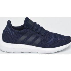 Niebieskie buty sportowe męskie adidas kolekcja zima 2018