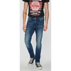 Mustang - Jeansy Vegas. Niebieskie jeansy męskie Mustang. W wyprzedaży za 269.90 zł.