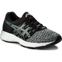 Buty ASICS - Gel-Exalt 4 T7E5N Black/Dark Grey/Porcelain Blue 9095. Czarne obuwie sportowe damskie Asics, z materiału. W wyprzedaży za 259.00 zł.