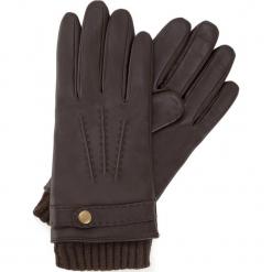 Rękawiczki męskie 39-6-354-B. Brązowe rękawiczki męskie Wittchen. Za 239.00 zł.