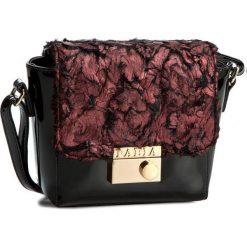 Torebka PABIA - BAG9332 Fioletowe Futro. Czarne torebki do ręki damskie Pabia, z futra. W wyprzedaży za 119.00 zł.