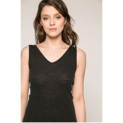Roxy - Sukienka Cloudless Day. Sukienki damskie Roxy, z bawełny, casualowe, na ramiączkach. W wyprzedaży za 149.90 zł.