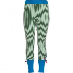 """Legginsy """"Bottom To The Top"""" w kolorze zielono-białym. Legginsy dla dziewczynek marki OROKS. W wyprzedaży za 62.95 zł."""