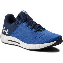 Buty UNDER ARMOUR - Ua Micro G Pursuit 3000011-401 Blu. Niebieskie buty sportowe męskie Under Armour, z materiału. W wyprzedaży za 179.00 zł.