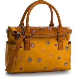 Torebka DESIGUAL - 18WAXP43 6011. Brązowe torebki do ręki damskie Desigual. Za 349.90 zł.