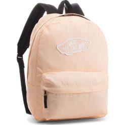 Plecak VANS - Realm Backpack VN0A3UI6YDU Bleached Apr. Brązowe plecaki damskie Vans, z materiału, sportowe. W wyprzedaży za 129.00 zł.