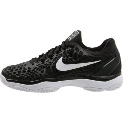 Nike Performance AIR ZOOM CAGE 3 HC Obuwie multicourt black/white/anthracite. Trekkingi męskie Nike Performance, z materiału, outdoorowe. Za 549.00 zł.