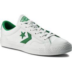 Trampki CONVERSE - Star Player Ox 159738C White/Green/White. Białe trampki męskie Converse, z gumy. W wyprzedaży za 249.00 zł.