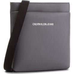 Saszetka CALVIN KLEIN JEANS - Smooth Essential Mic K40K400603  014. Szare saszetki męskie Calvin Klein Jeans, z jeansu, młodzieżowe. Za 299.00 zł.