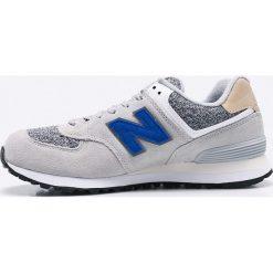 New Balance - Buty ML574VAH. Szare buty sportowe męskie New Balance, z materiału. W wyprzedaży za 239.90 zł.