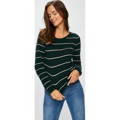 Tally Weijl - Sweter. Czarne swetry damskie TALLY WEIJL, z bawełny, z okrągłym kołnierzem. Za 89.90 zł.