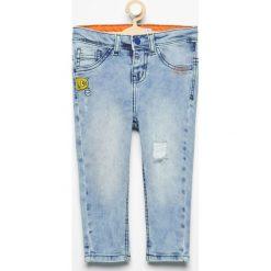 Spodnie jeansowe carrot - Niebieski. Jeansy dla chłopców marki Reserved. W wyprzedaży za 29.99 zł.