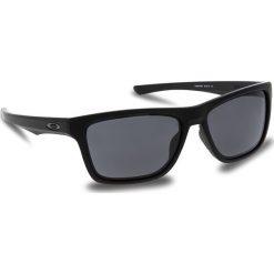 Okulary przeciwsłoneczne OAKLEY - Holston OO9334-0858 Matte Black/Prizm Grey. Czarne okulary przeciwsłoneczne męskie Oakley, z tworzywa sztucznego. W wyprzedaży za 449.00 zł.