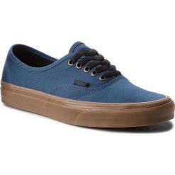 Tenisówki VANS - Authentic VN0A38EMU4C (Gum Outsole) Dark Denim. Niebieskie trampki męskie Vans, z denimu. W wyprzedaży za 219.00 zł.