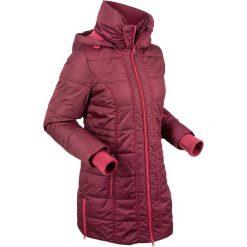 Płaszcz termoaktywny pikowany bonprix czerwony klonowy. Płaszcze damskie marki FOUGANZA. Za 249.99 zł.