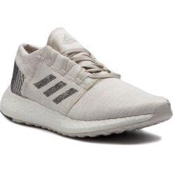 Buty adidas - PureBoost Go B37802 Nondye/Gresix/Rawwht. Szare obuwie sportowe damskie Adidas, z materiału. Za 499.00 zł.