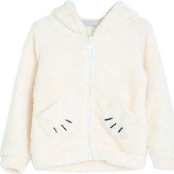 Kremowa Bluza Lazy Lullaby. Białe bluzy dla dziewczynek Born2be, na jesień. Za 44.99 zł.