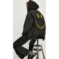 Miss Sixty - Kurtka bomber dwustronna. Czarne kurtki damskie Miss Sixty, z aplikacjami, z bawełny. W wyprzedaży za 599.90 zł.