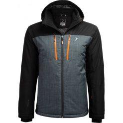 Kurtka narciarska męska  KUMN606 - głęboka czerń - Outhorn. Czarne kurtki snowboardowe męskie Outhorn, z meshu. Za 399.99 zł.