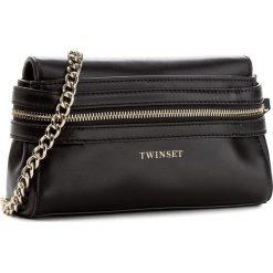 Torebka TWINSET - Pochette Cecile AA7PEN Nero 00006. Czarne torebki do ręki damskie Twinset, ze skóry. W wyprzedaży za 419.00 zł.