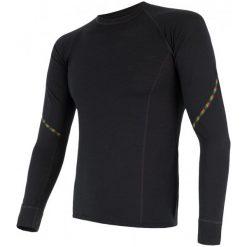 Sensor Koszulka Termoaktywna Z Długim Rękawem Merino Air M Black M. Czarne koszulki sportowe męskie Sensor, z materiału, z długim rękawem. Za 215.00 zł.