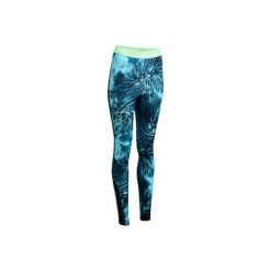Legginsy fitness kardio 500. Niebieskie legginsy sportowe damskie DOMYOS. W wyprzedaży za 44.99 zł.