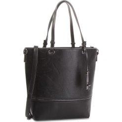 Torebka JENNY FAIRY - RC12533 Czarny. Czarne torebki do ręki damskie Jenny Fairy, ze skóry ekologicznej. Za 119.99 zł.
