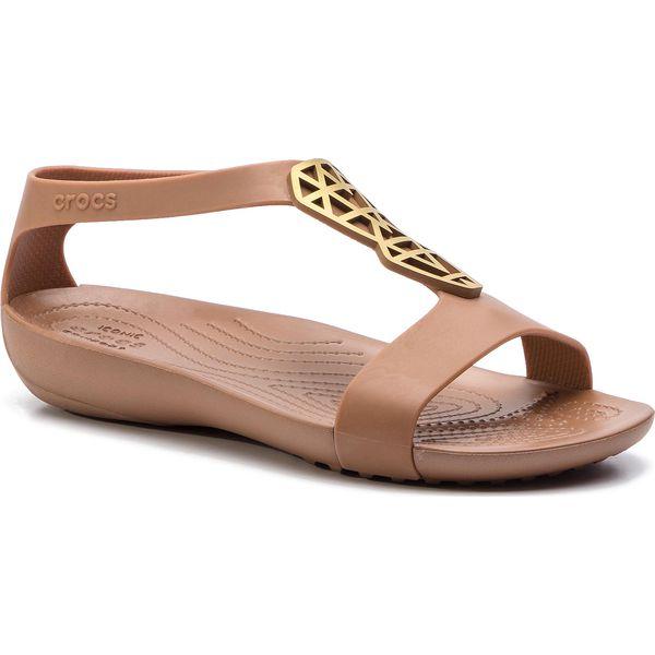jakość wykonania dla całej rodziny fantastyczne oszczędności Sandały CROCS - Serena Embelish Sndl W 205601 Bronze/Bronze