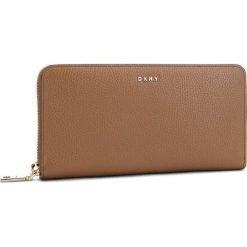 Duży Portfel Damski DKNY - Lg Zip Around R831A658 Vicuna VIC. Brązowe portfele damskie DKNY, ze skóry. Za 639.00 zł.