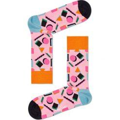 Happy Socks - Skarpety Nineties. Różowe skarpety męskie Happy Socks. W wyprzedaży za 29.90 zł.