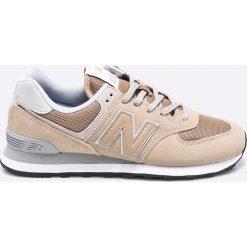 New Balance - Buty ML574EBE. Szare buty sportowe męskie New Balance, z materiału. W wyprzedaży za 269.90 zł.