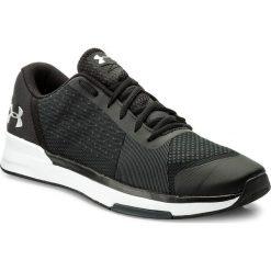 Buty UNDER ARMOUR - Ua Showstopper 1295774-001 Blk/Wht/Msv. Czarne buty sportowe męskie Under Armour, z gumy. W wyprzedaży za 219.00 zł.