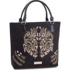 Torebka MONNARI - BAG5140-020 Black. Czarne torebki do ręki damskie Monnari, z materiału. W wyprzedaży za 209.00 zł.