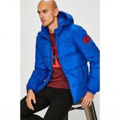 Calvin Klein Jeans - Kurtka puchowa. Niebieskie kurtki męskie Calvin Klein Jeans, z jeansu. Za 999.90 zł.
