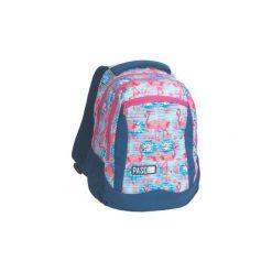 Plecak Szkolny Lekki Paso Flaming. Szare torby i plecaki dziecięce PASO, z materiału. Za 89.00 zł.