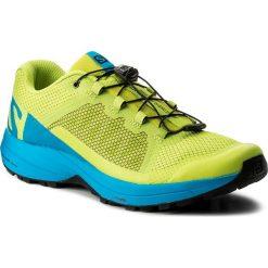 Buty SALOMON - Xa Elevate 401360 29 V0 Acid Lime/Hawaiian Surf/Black. Zielone buty sportowe męskie Salomon, z materiału. W wyprzedaży za 349.00 zł.