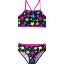 Bikini dziewczęce (2 części) bonprix czarny w gwiazdy. Bielizna dla dziewczynek marki bonprix. Za 44.99 zł.