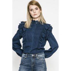 Only - Koszula Caolei. Szare koszule damskie Only, z lyocellu, casualowe, ze stójką, z długim rękawem. W wyprzedaży za 99.90 zł.