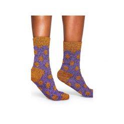 Skarpetki WOOL Happy Socks WBD022-2001. Brązowe skarpety męskie Happy Socks, z tkaniny. Za 38.49 zł.