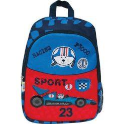 Eurocom Plecak dziecięcy duży Racing Sport (282356). Niebieskie torby i plecaki dziecięce Eurocom. Za 41.58 zł.