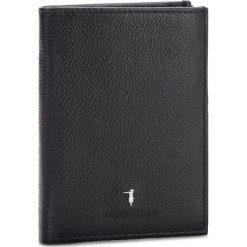 Duży Portfel Męski TRUSSARDI JEANS - Wallet Vertical Coin Pocket Tumbled 71W00002 K299. Czarne portfele męskie TRUSSARDI JEANS, z jeansu. W wyprzedaży za 239.00 zł.