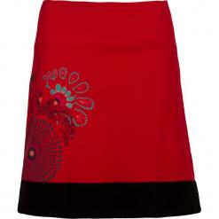 Spódnica w kolorze czerwonym. Czerwone spódnice damskie Kéawa. W wyprzedaży za 51.95 zł.