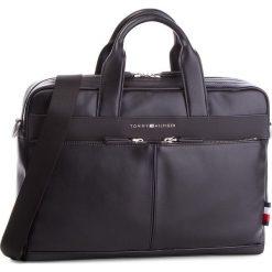 Torba na laptopa TOMMY HILFIGER - Th City Computer Bag AM0AM03586  002. Czarne torby na laptopa damskie Tommy Hilfiger, ze skóry ekologicznej. Za 699.00 zł.