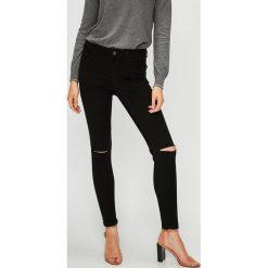 Vero Moda - Jeansy. Czarne jeansy damskie Vero Moda. W wyprzedaży za 99.90 zł.